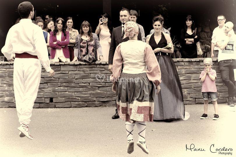 Grupos de danza