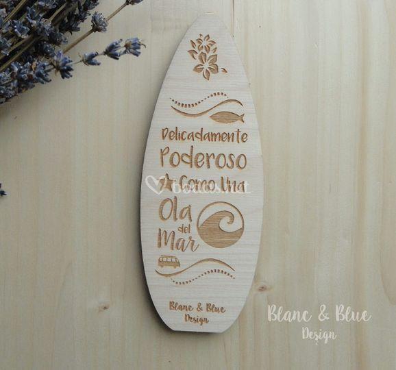 Tabla Surf (Madera)