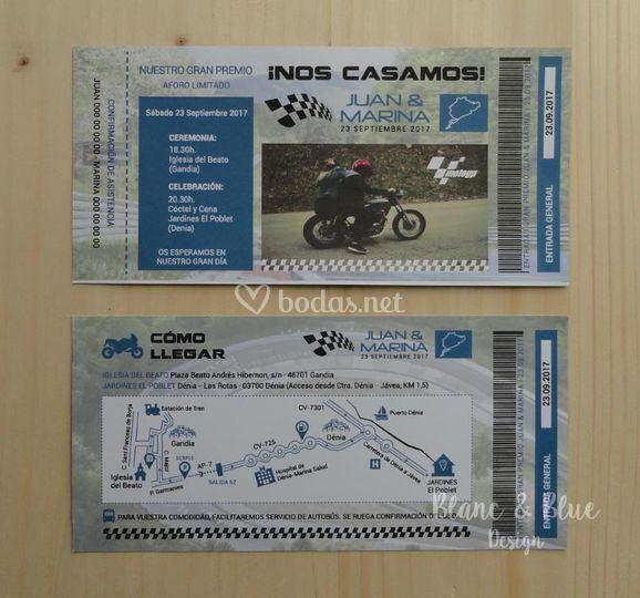 Entrada Moto GP