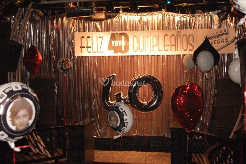 40 cumpleaños