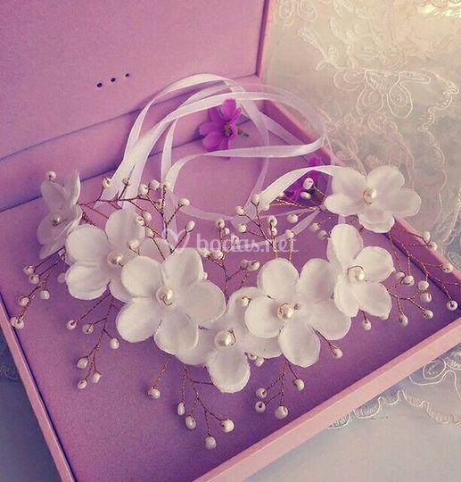 Corona de novia