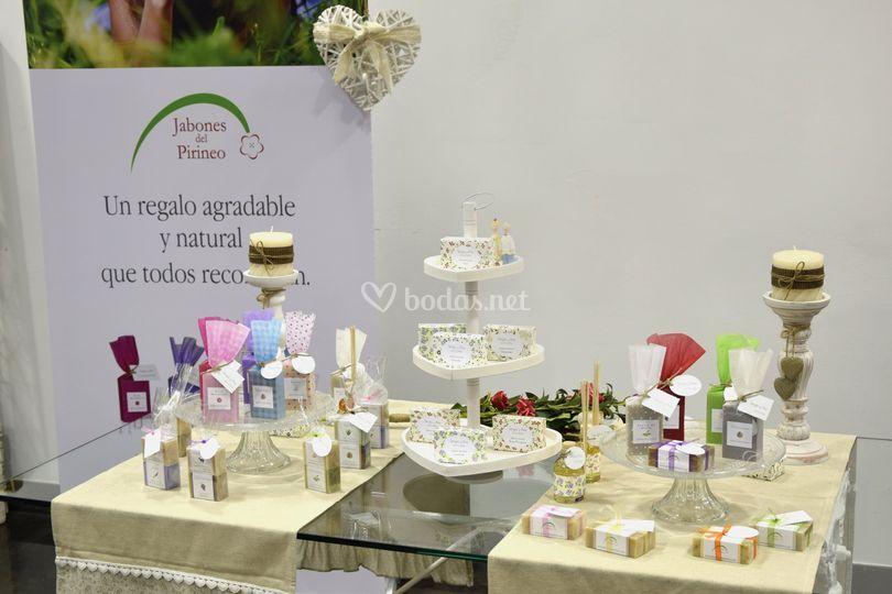 Stand detalles para bodas