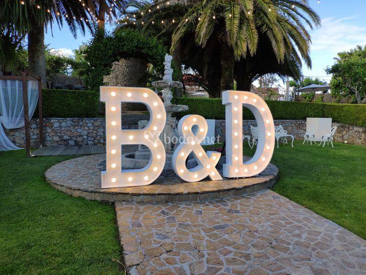 Alquiler de letras 1.5M Luz de