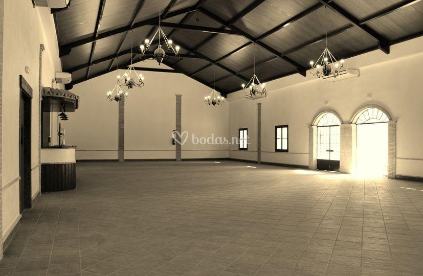 Interior del salón