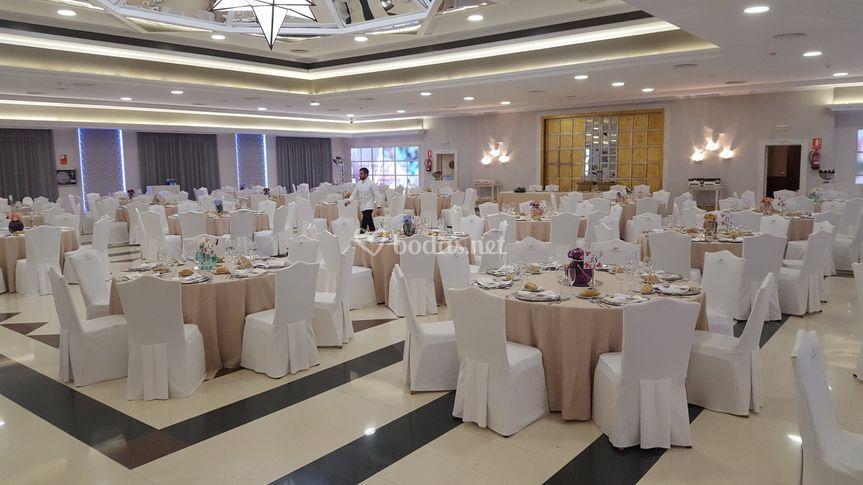 Salón Fatinafar, montaje de boda