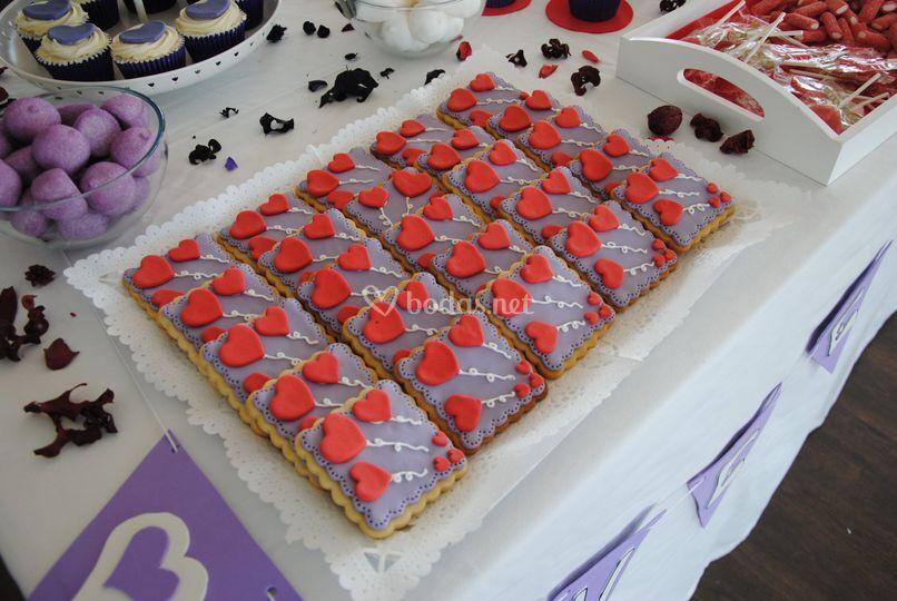 Mesa dulce tricolor