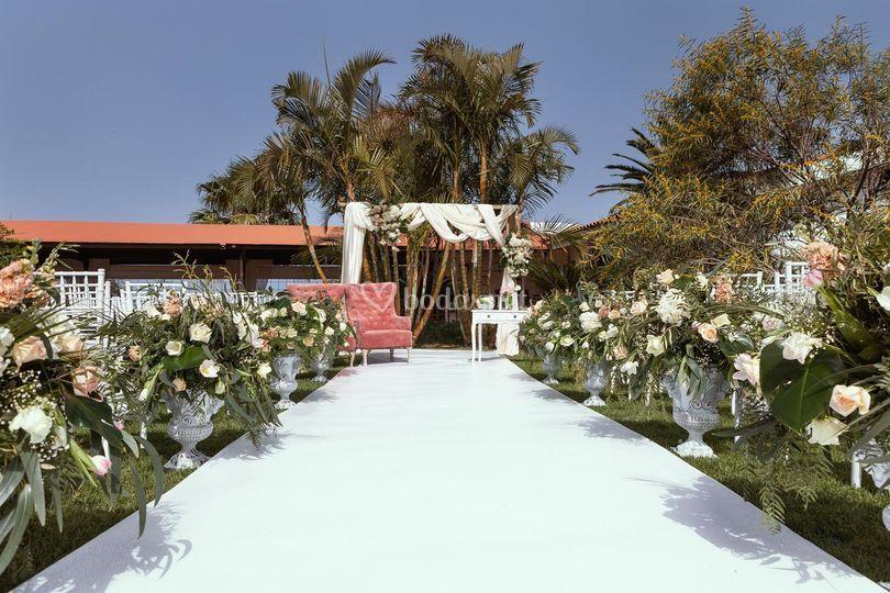 Ceremonia romántica