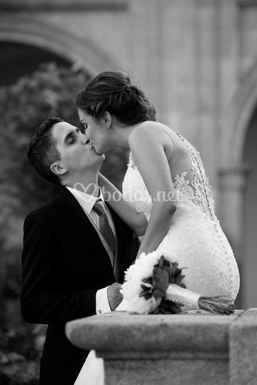 Beso en la Abadia Samos