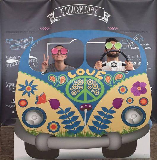 Photocall furgoneta