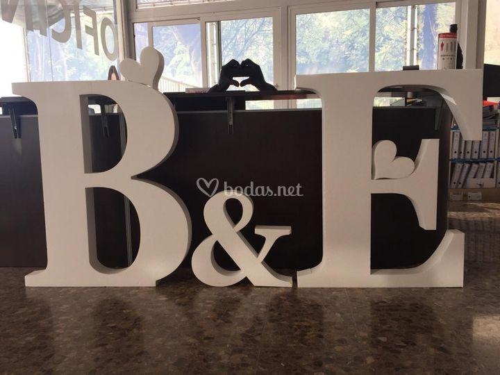 Letras gigantes personalizable