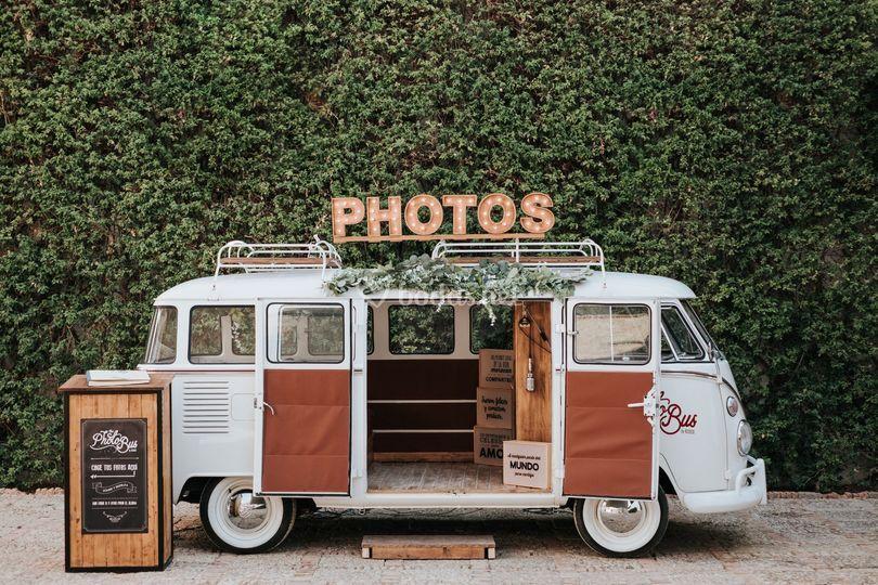 Photobus Volkswagen T1 (Cream)