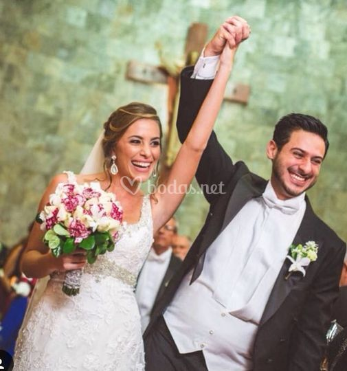 Durante la boda