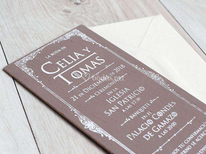 Invitación Juego de Tronos
