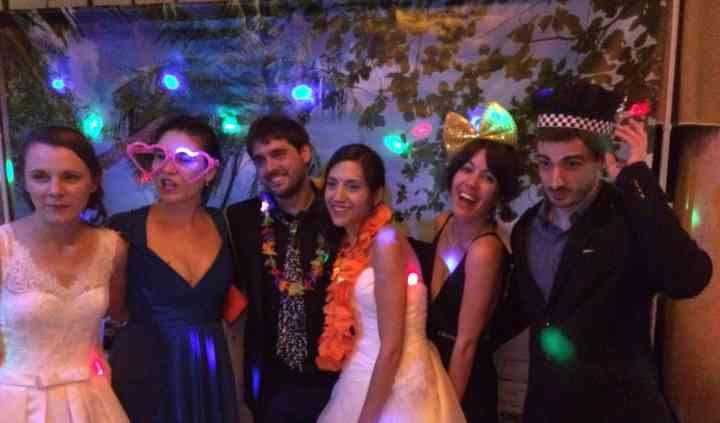 Durante la fiesta