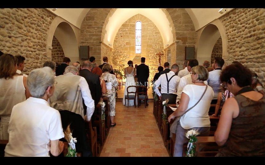 Ceremonia de Carine y Arnaud
