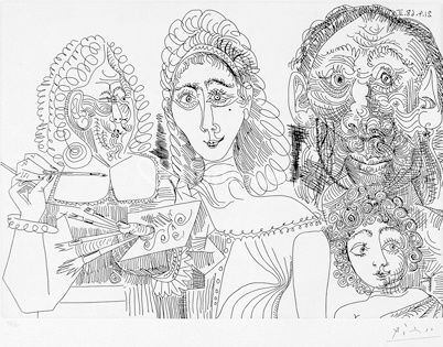 Grabado de Picasso