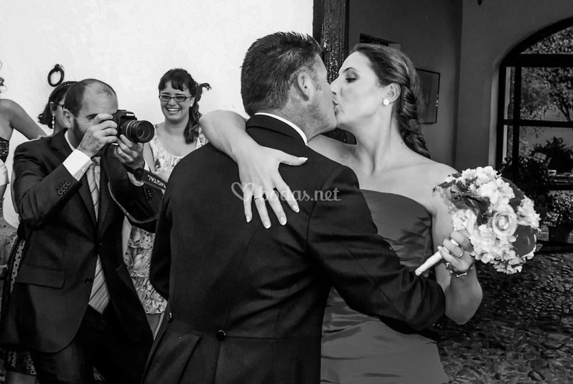 El beso, boda en Cádiz