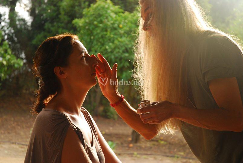 Make up, boda en Cádiz