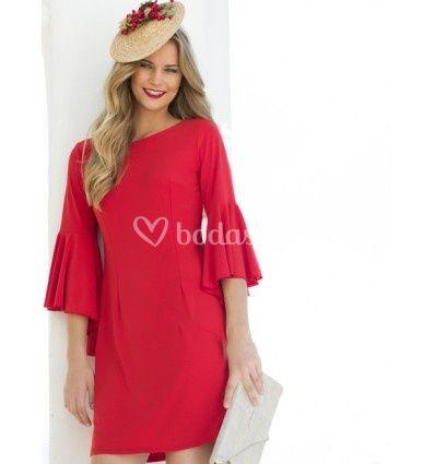 Vestido it grace rojo