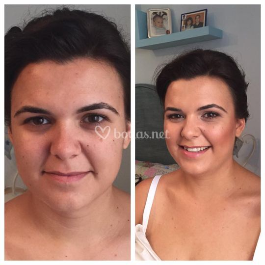 Antes y después de la novia