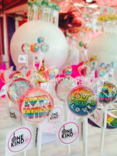 One of a Kind Lollipop Design