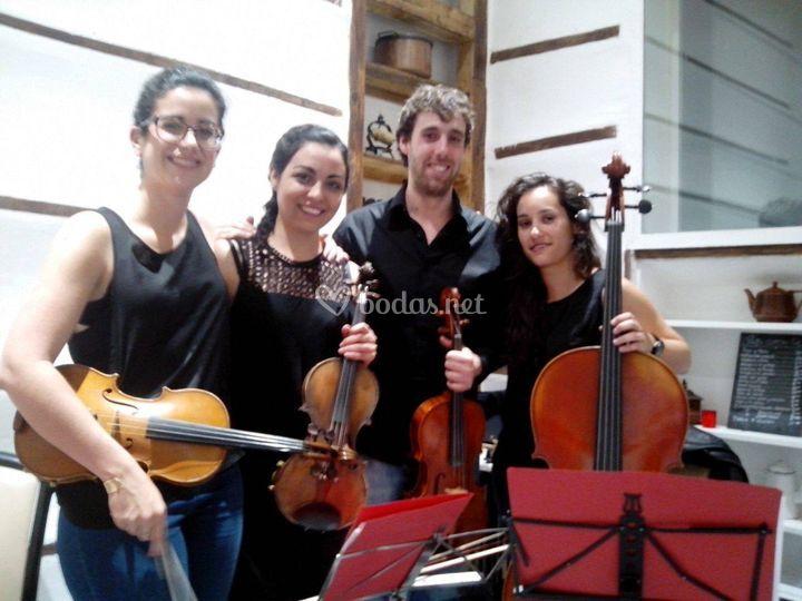 Concierto en el barrio de Salamanca