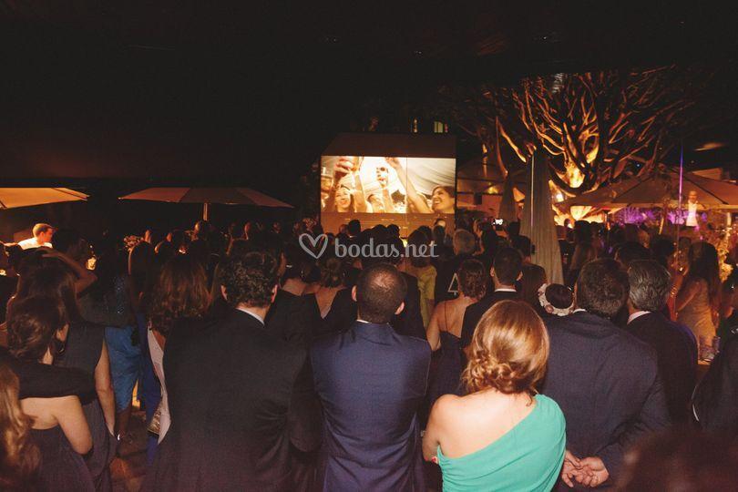 Vídeo (el mismo día de la boda