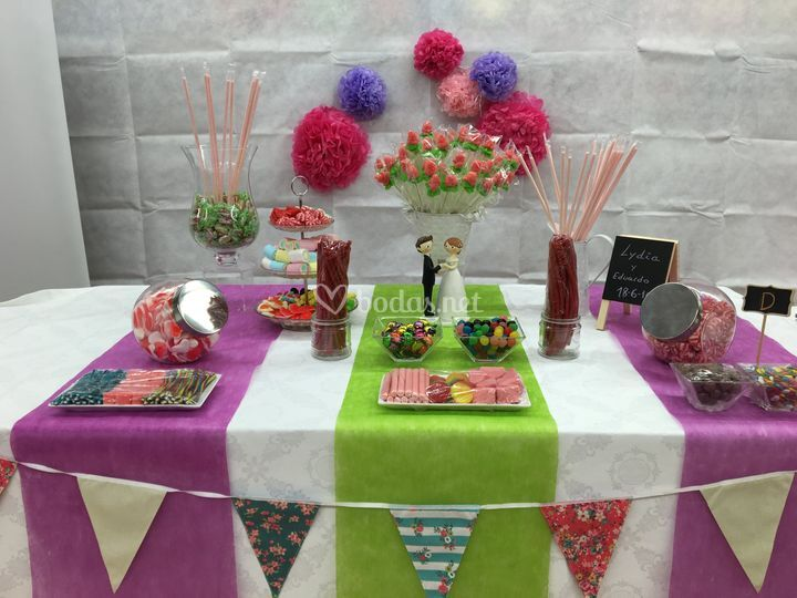Detalles mesas dulce