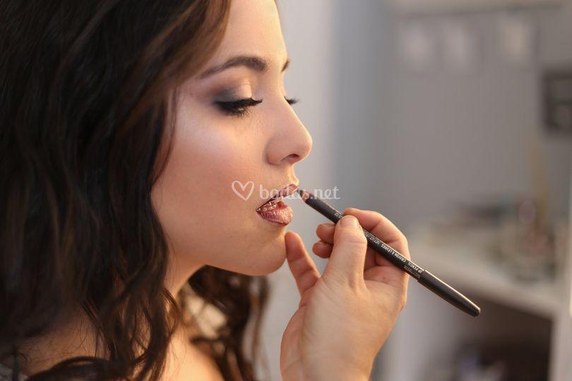Maquillaje novia aerógrafo