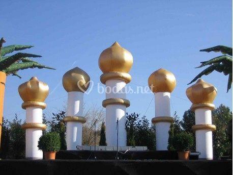 Columnas india