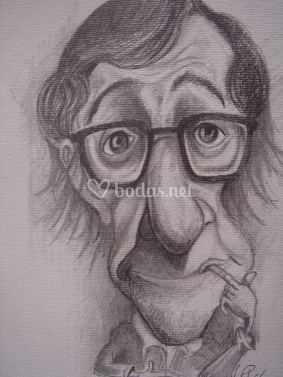 Caricatura a bolígrafo