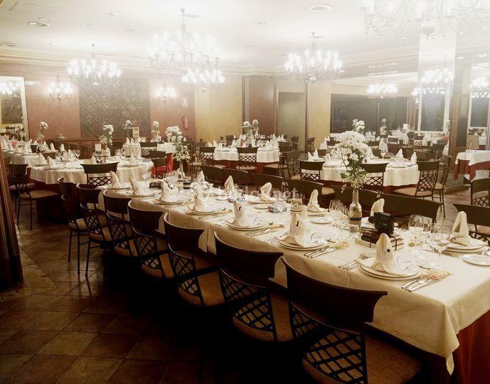 Salón montaje boda