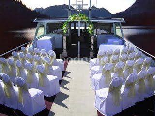 Ceremonia en cubierta