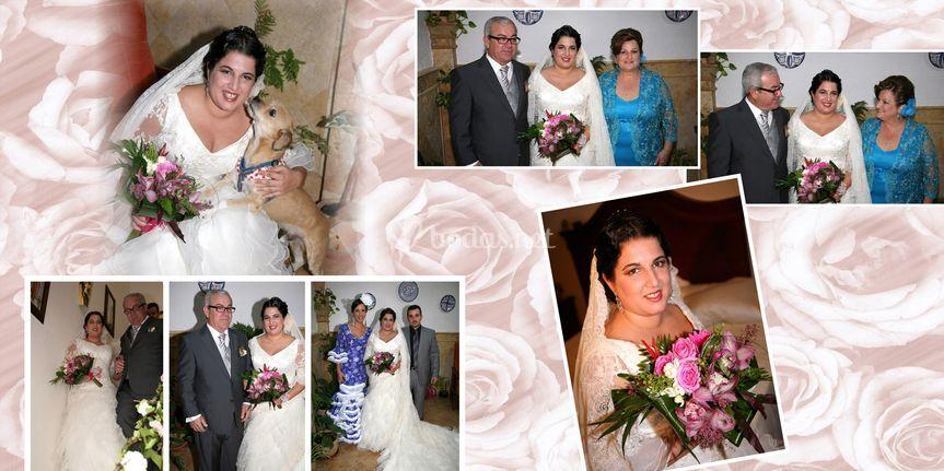 Familia de la novia