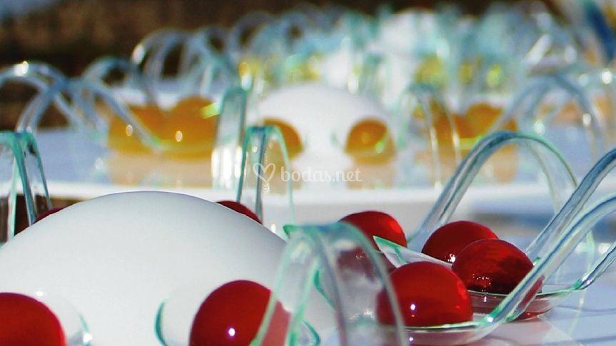 Esferas vodka hibisco