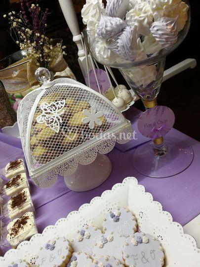 Repostería de bodas