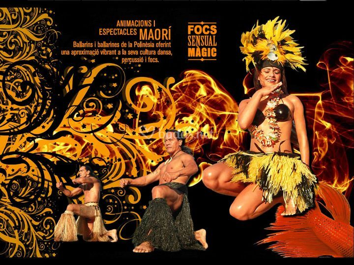 Espectacle Maorí