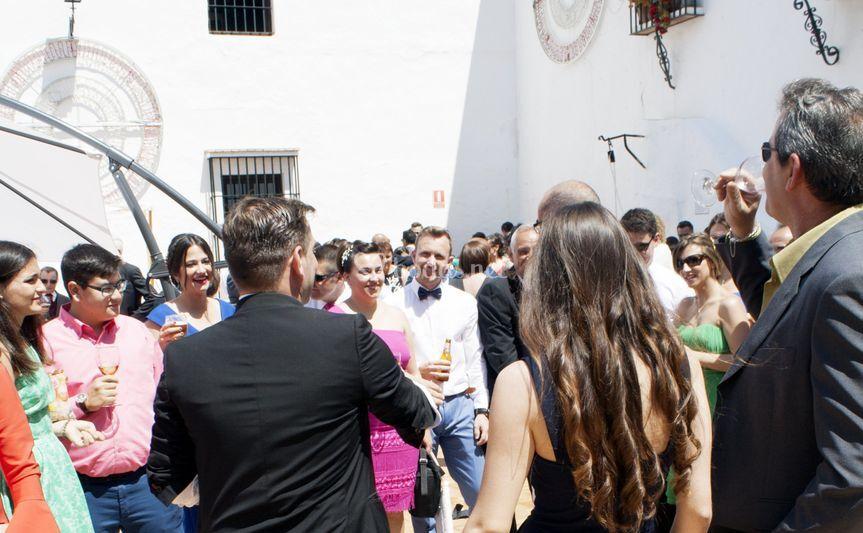 Magia en una boda