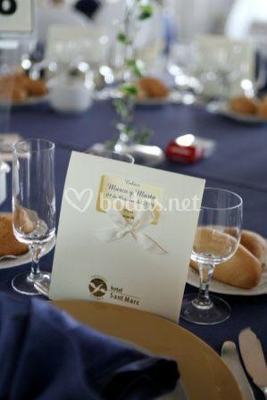 Minuta Mesa Banquete