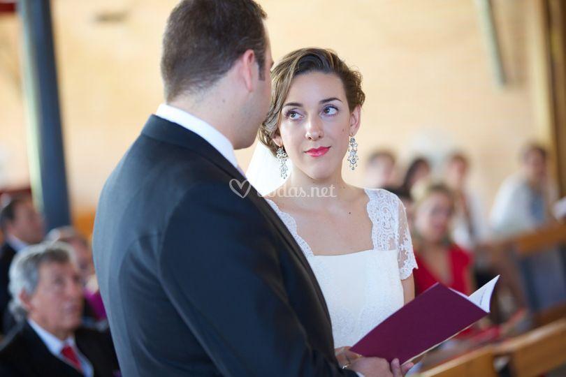 Durante la ceremonia