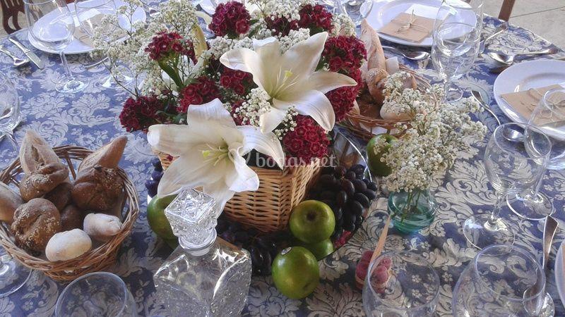 Flores de bodas