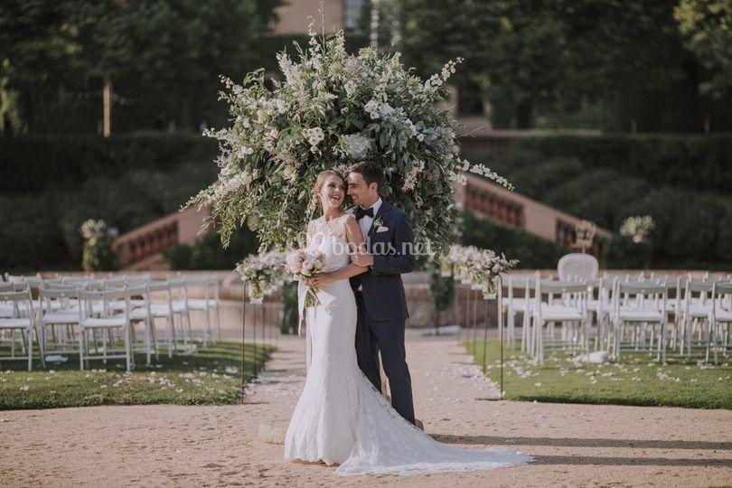 ¡Por fin casados!