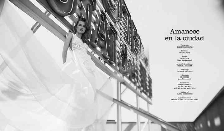 Fashion magazine weddings