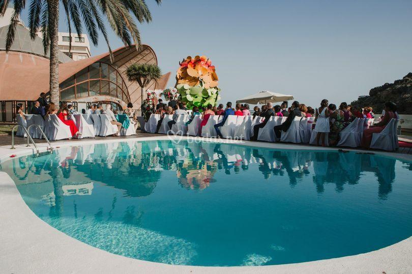 Celebración de boda en T. Habana