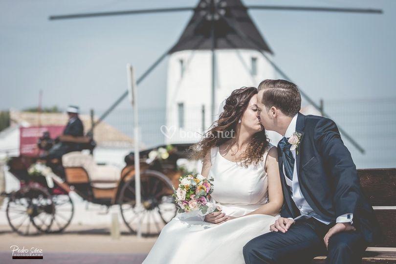 Día de la boda en Las Salinas