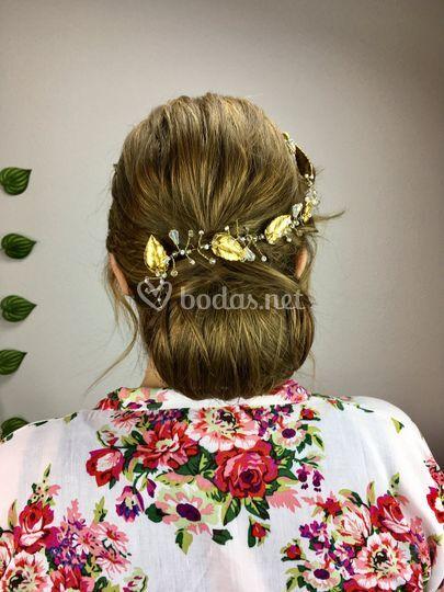 Prueba peinado novia