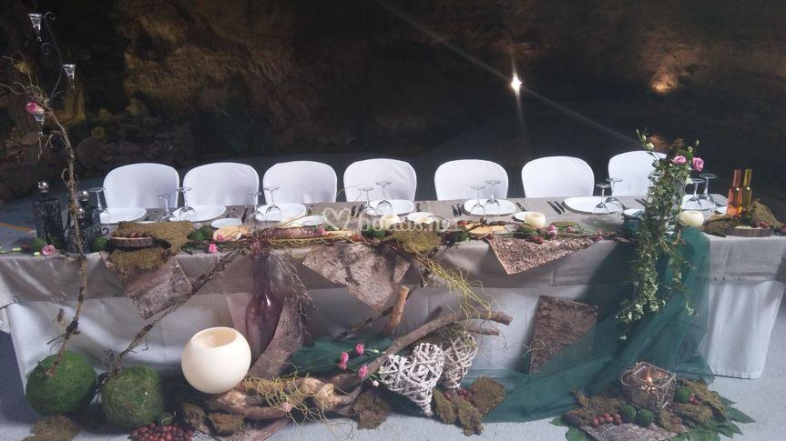 Mesa Decorada Ceremonia De La Arena