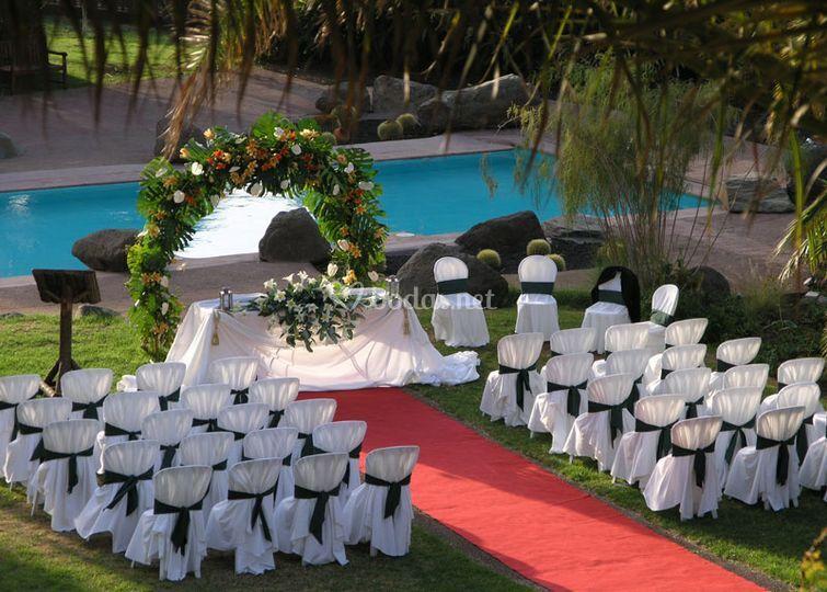 Ceremonias al aire libre de La Hacienda de Anzo