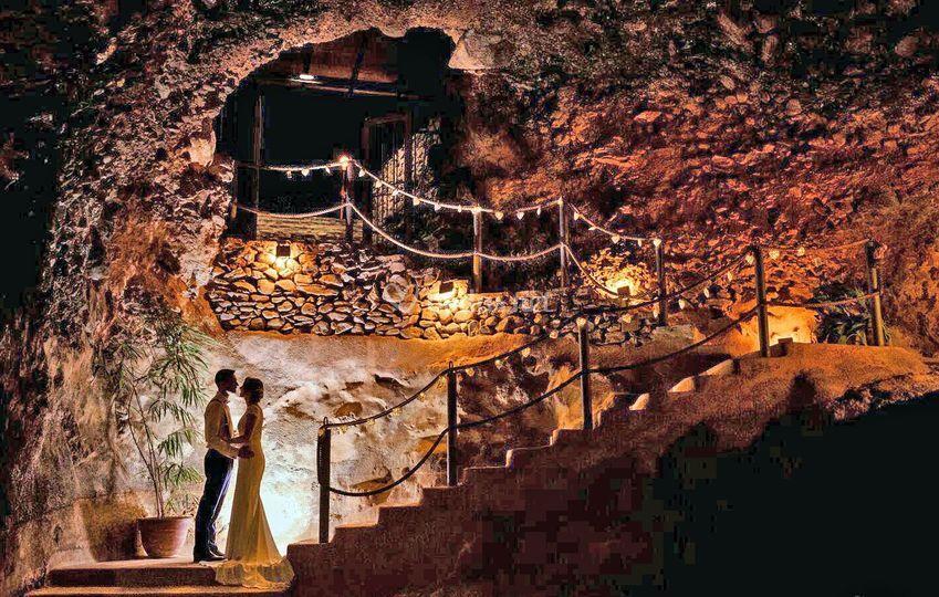 Entrada cueva de anzo