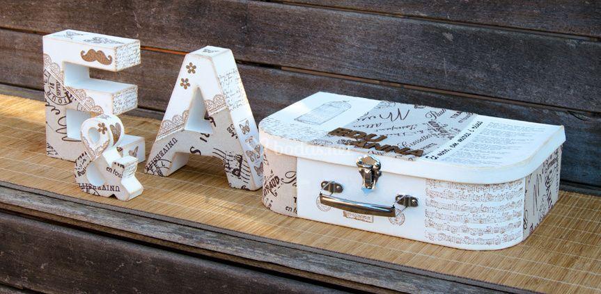 Kit de letras y maletín